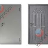 Metal doors - Shockproof metal doors