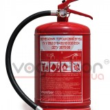 Powder and carbon dioxide fire extinguishers - Powder fire extinguisher for car OП 5