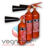 Powder and carbon dioxide fire extinguishers - Carbon dioxide fire extinguisher BBK - 1.4