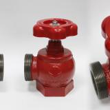 Рукав пожарный - Кран (вентиль) пожарный чугунный угловой ПК-50, ПК-70