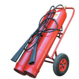 Powder and carbon dioxide fire extinguishers - Carbon dioxide fire extinguisher OУ - 80 (Mobile)
